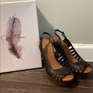 Jessica Simpson Finch Peep Toe Sandal